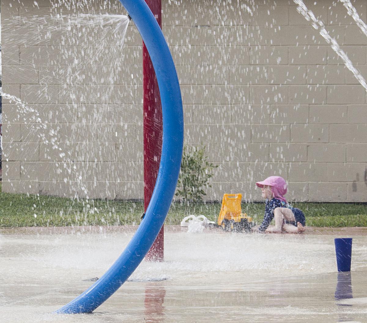 Fun at Bishop Splash Pad