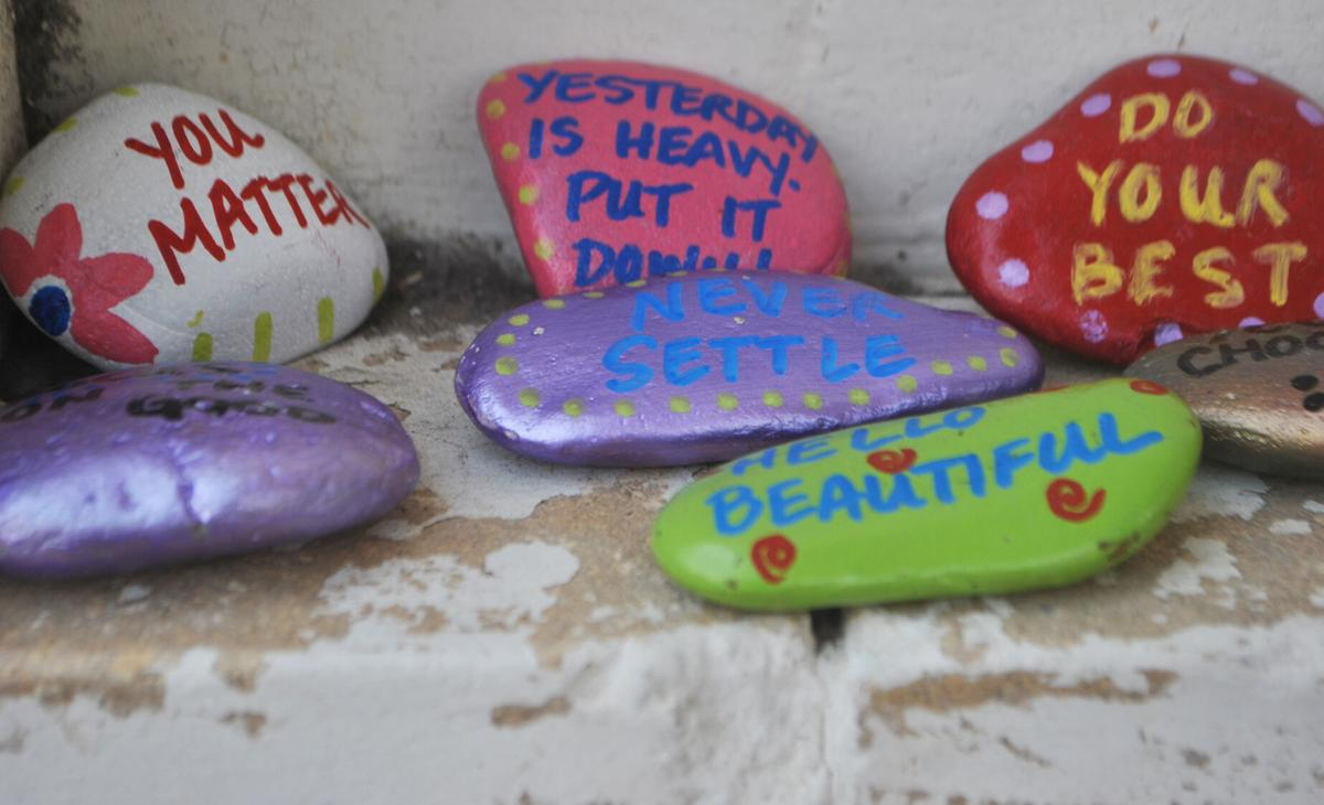 Rocks to bring kindness to the community