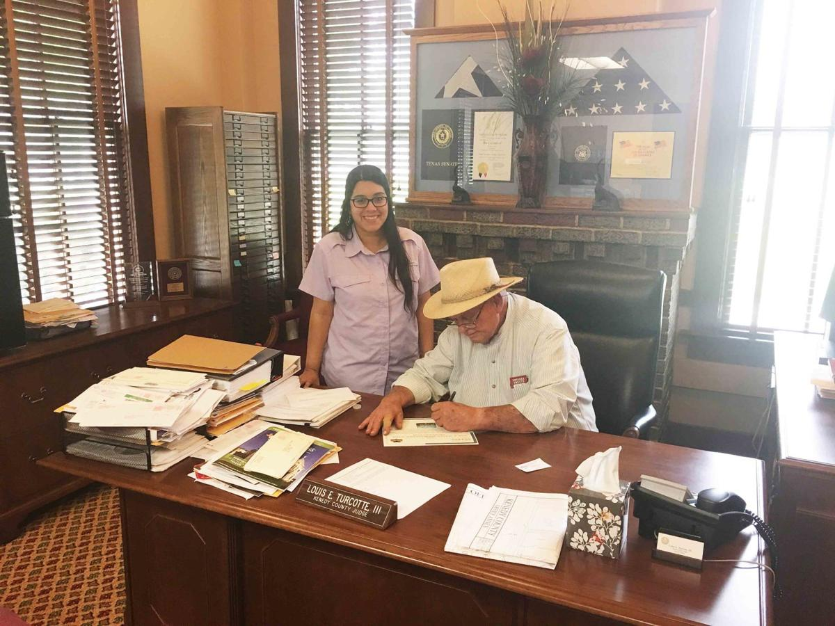 Kenedy County proclamation