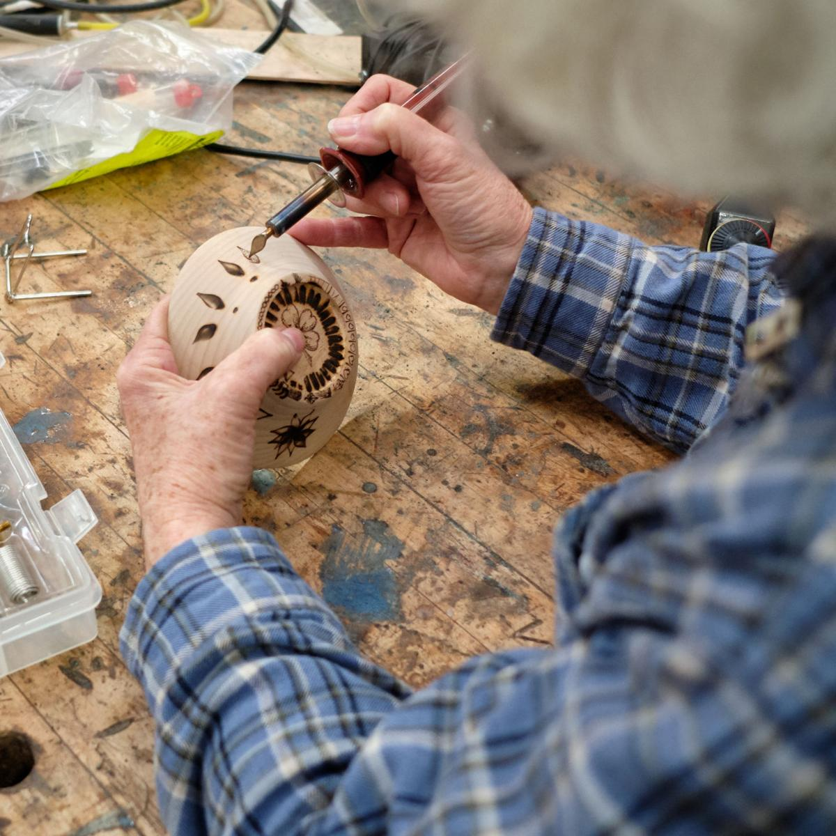 2019 Nave Sawmill woodturning clinic | | kingsvillerecord com