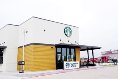 New Starbucks set to open