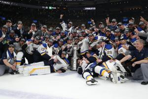 From David to Goliath, the St. Louis Blues Hoist Their First-Ever Stanley Cup