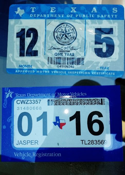 Texas Vehicles Transition To One Window Sticker As Of