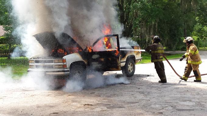 Truck Fire - 2