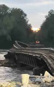 Flood debris damages Chariton Co bridge ... no idea how long it will affect that area
