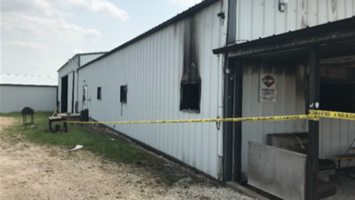 Authorities investigating whether fire in Kaiser is related to Lake Ozark shooting