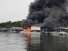 Fire at Lake Ozark dock causes a million in damage