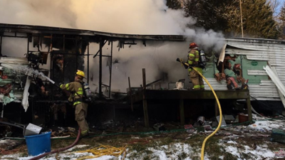 Space heater likely cause of destructive house fire in Camden Co