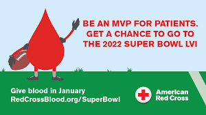 If you donate blood, you could win a trip to the Super Bowl