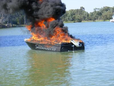Highway Patrol says boat fires are avoidable