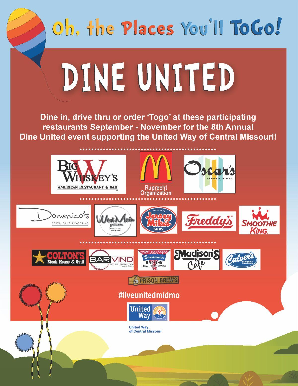United Way's 8th Annual Dine United