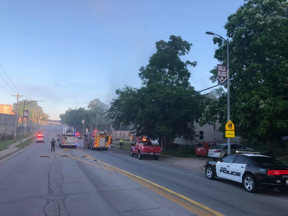 Apartment fire reported Thursday morning in Rolla