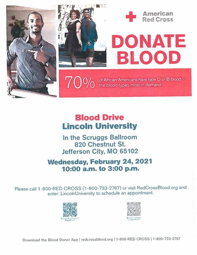 Red Cross Blood Drive at Lincoln University