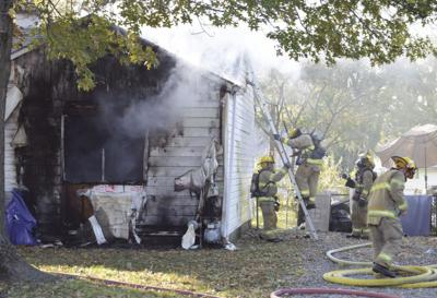 Sedalia house partially destroyed by fire