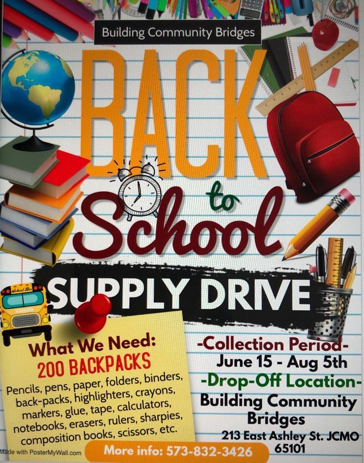"BCB's ""Back to School Supply Drive"""