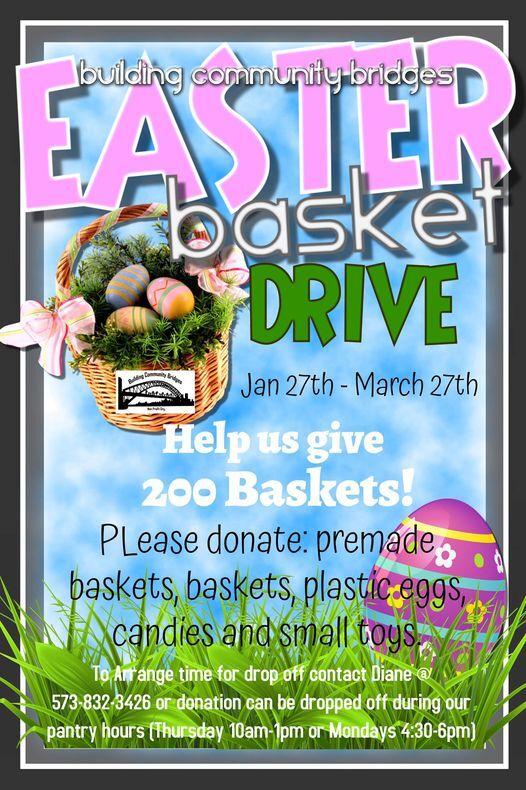 BCB Easter Basket Drive