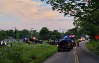 Columbia motorcyclist dies in head-on crash