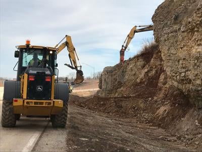 Newfound fault line complicates cleanup of Highway 54 at Lake