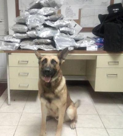 Cooper Co drug bust nets 34 pounds of marijuana