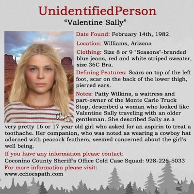 Jane Doe cold case homicide investigation in AZ involved Missouri teen
