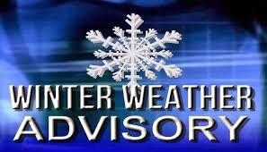 Winter Weather Advisory for most of Mid-MO through 6 p.m. tonight
