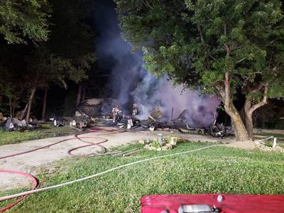 Early morning fire destroys home in St. Robert