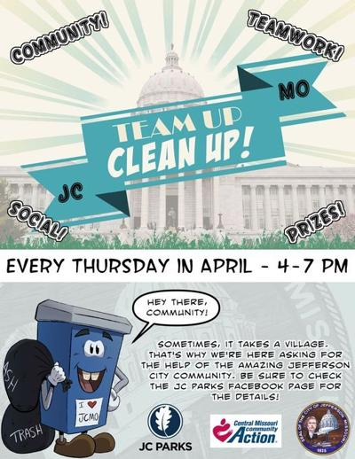 JC Parks seeks volunteers to help clean up city parks every Thursday in April