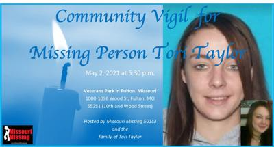 Community vigil held for missing Fulton woman