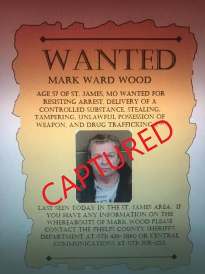 Wanted Phelps County fugitive found in Crawford County motel