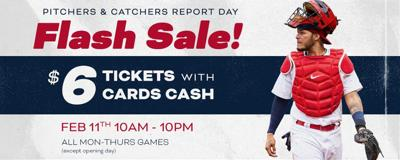 Cheap Cardinals' tickets ... today only