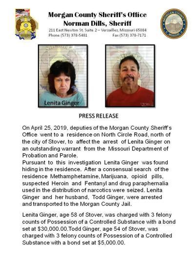 Morgan Co probation violation leads to drug raid | Newsroom