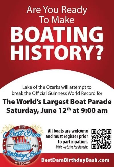 More boaters needed for world record attempt at the Lake of the Ozarks this weekend