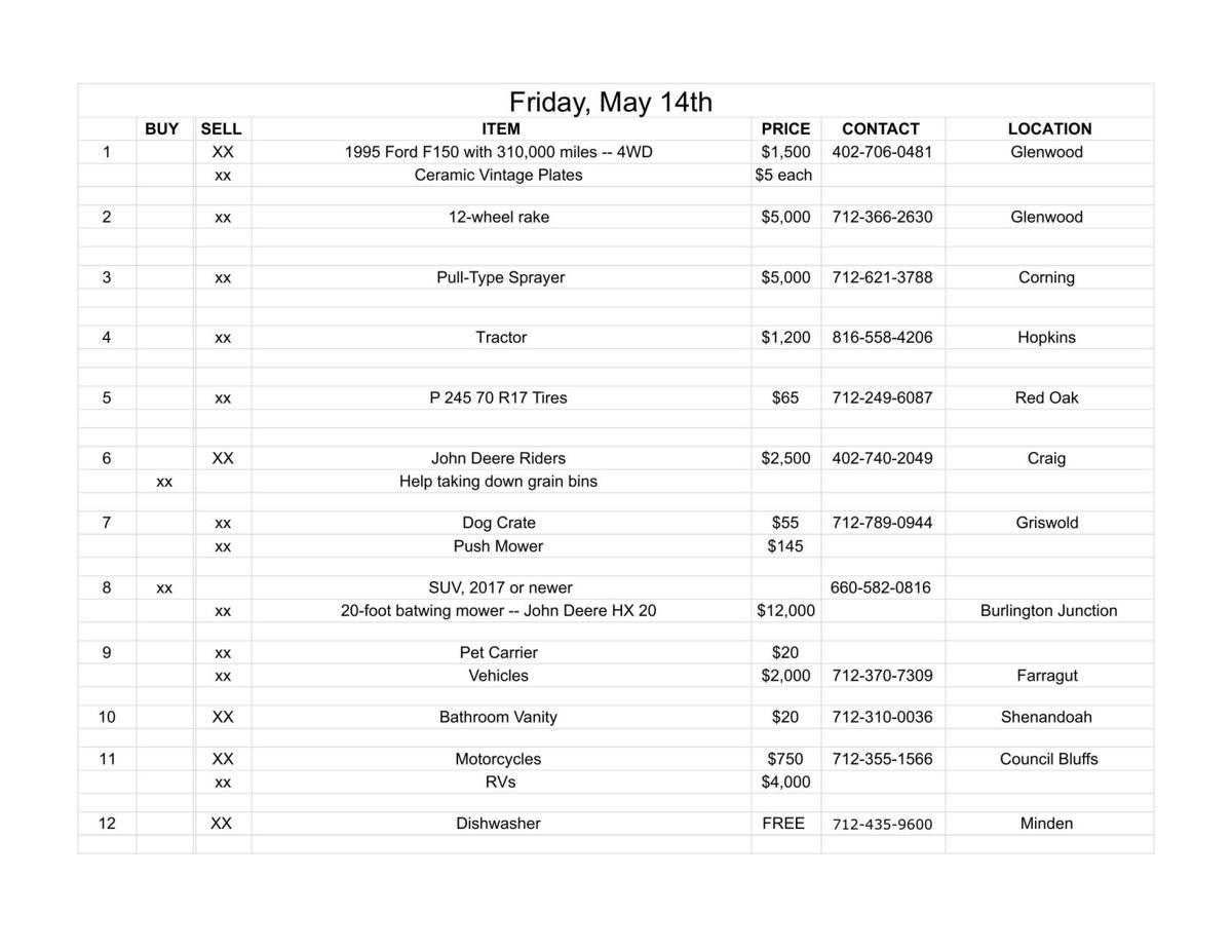 Friday, May 14th