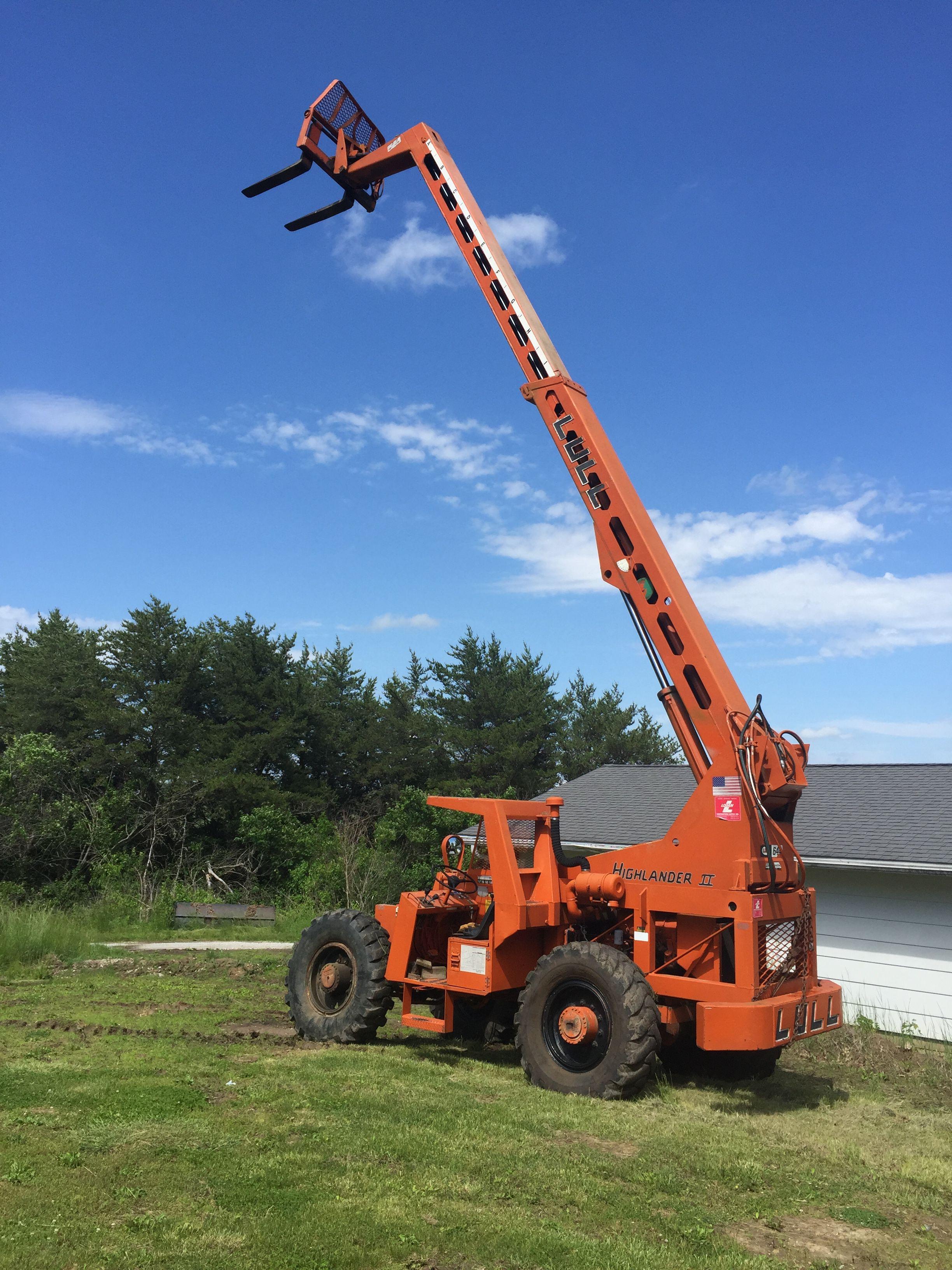 High reach forklift image 1