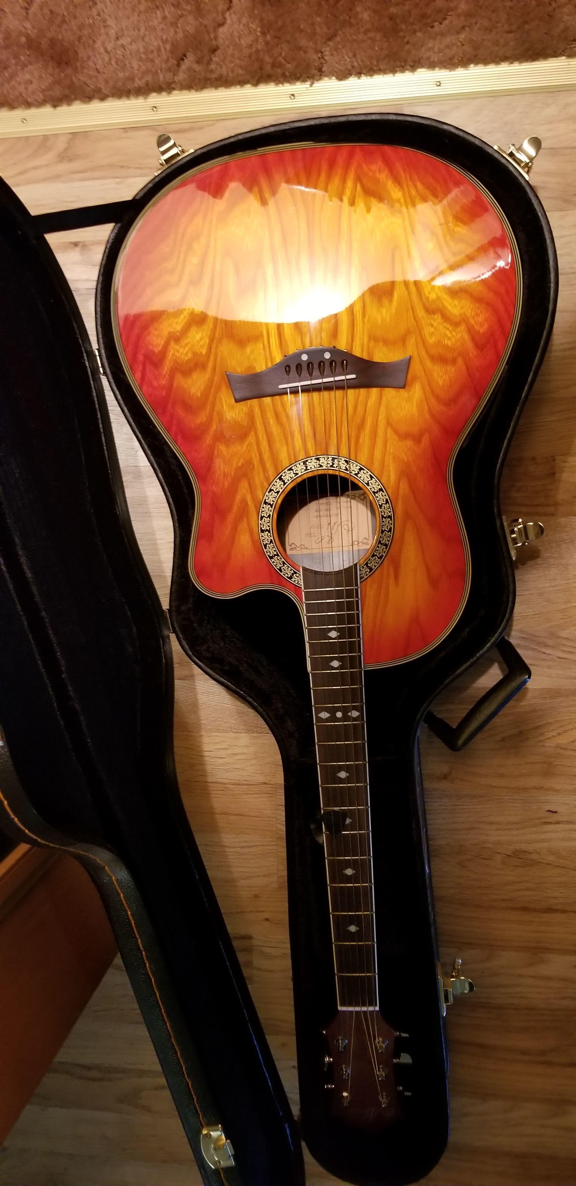 Morgan Monroe Journeyman guitar image 1
