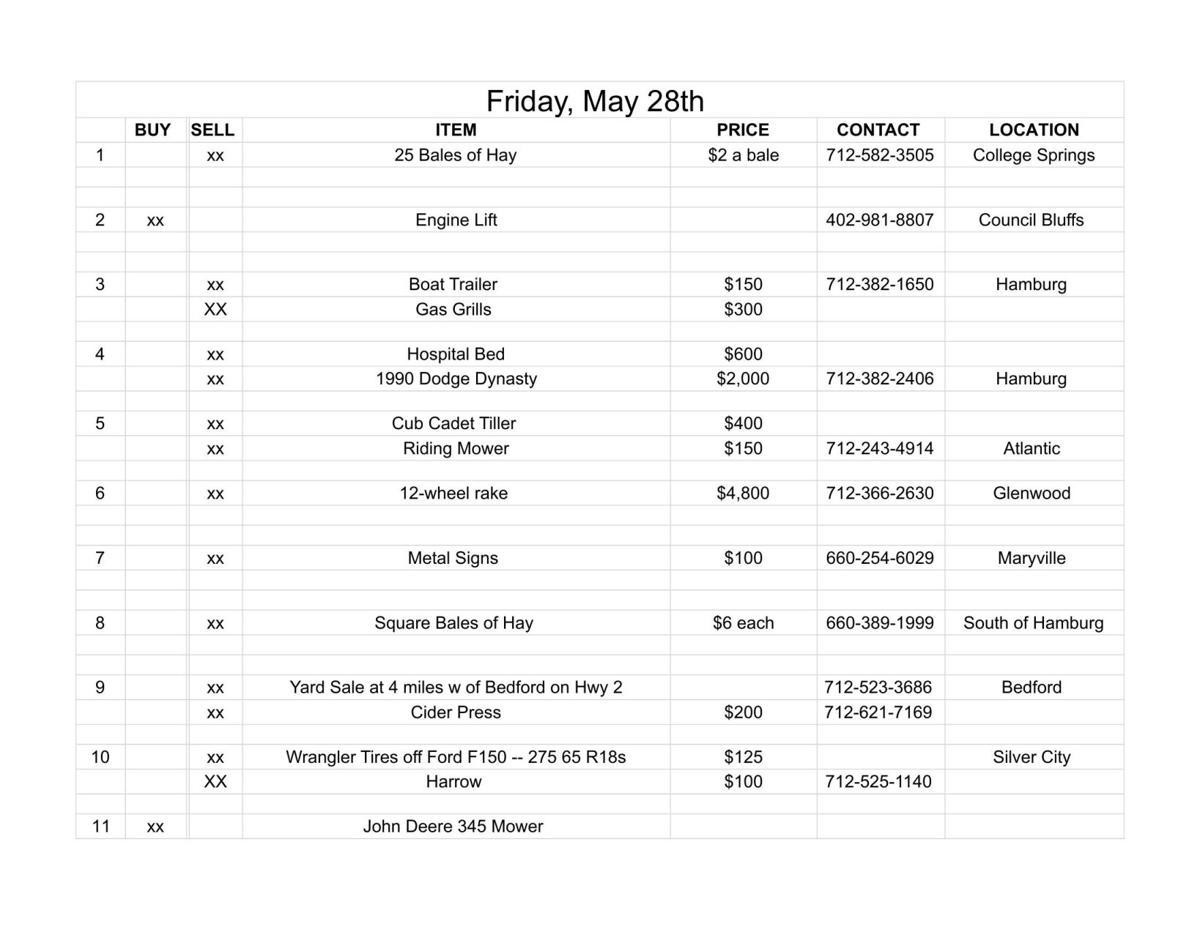 Friday, May 28th