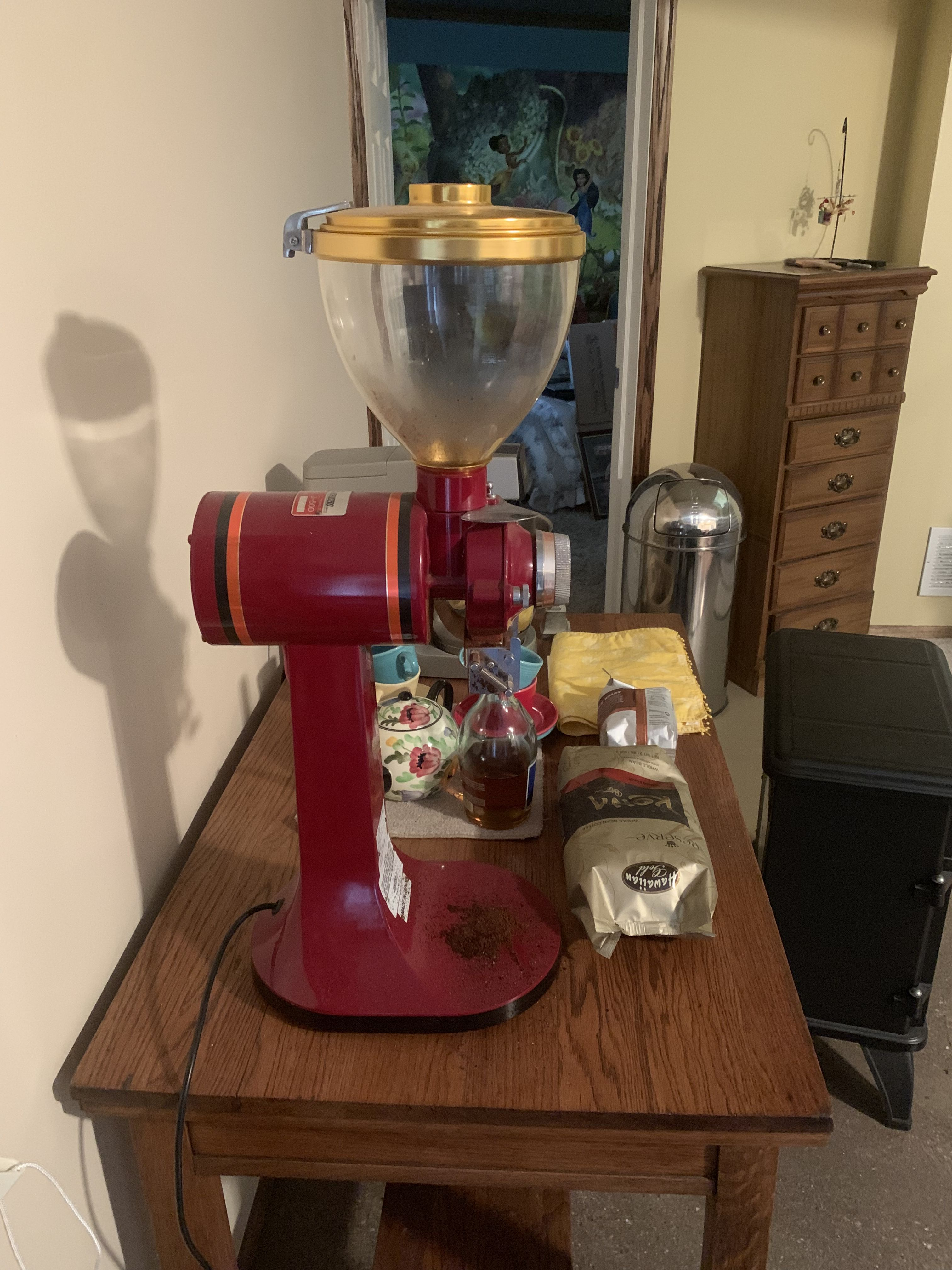 Commercial Coffee Grinder image 1