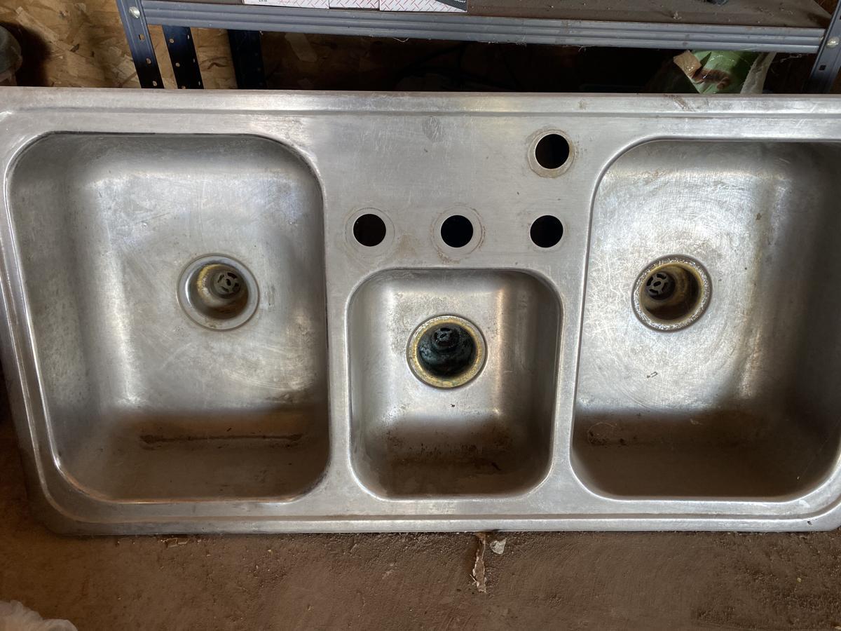 3 bowl sink image 1
