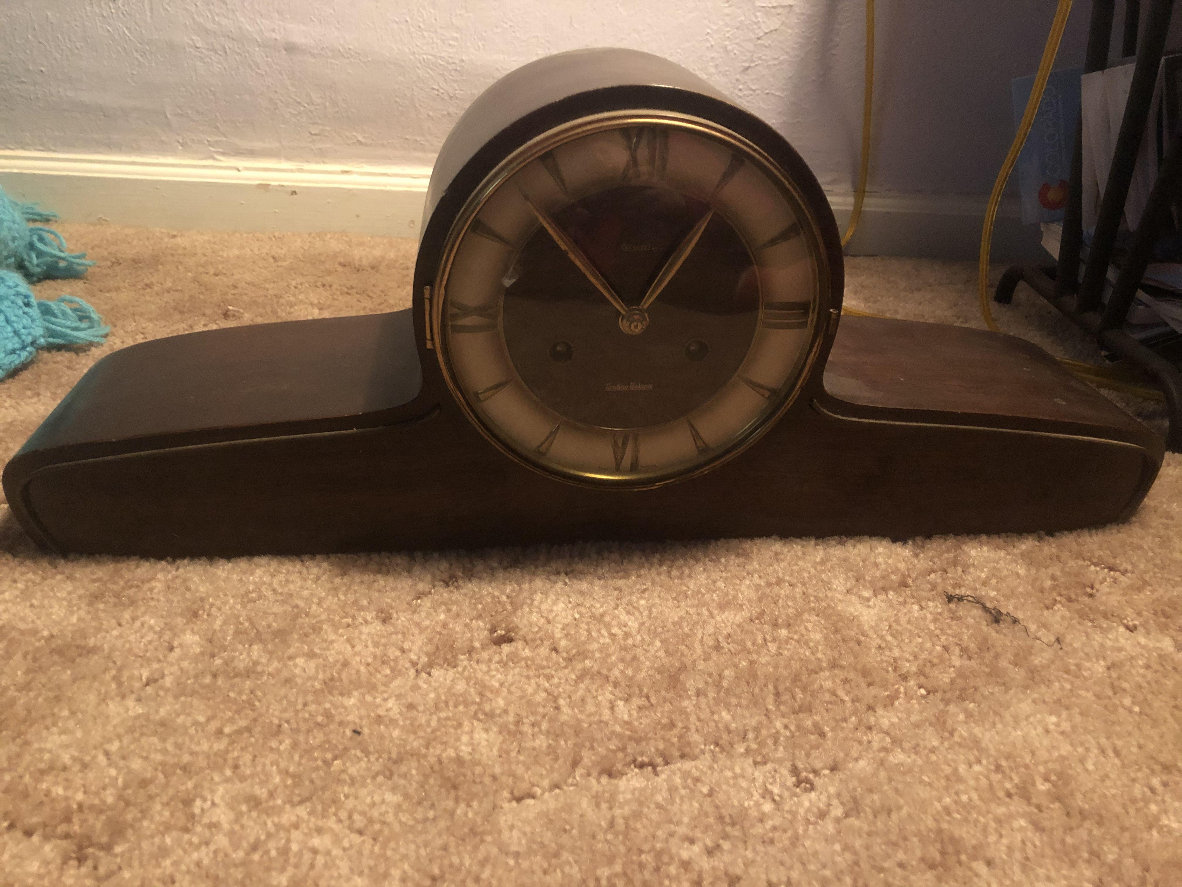 Antique clock image 1