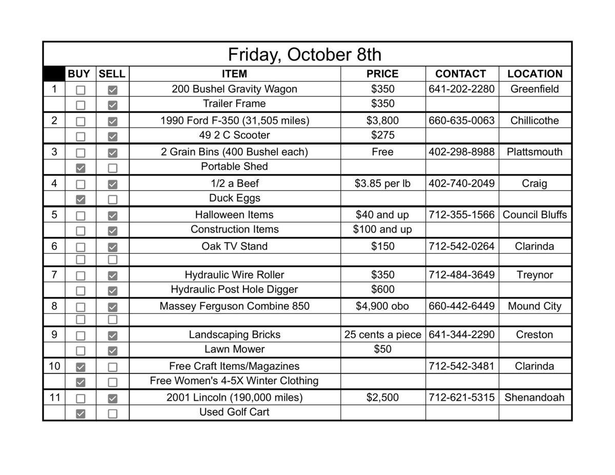 Friday, October 8th