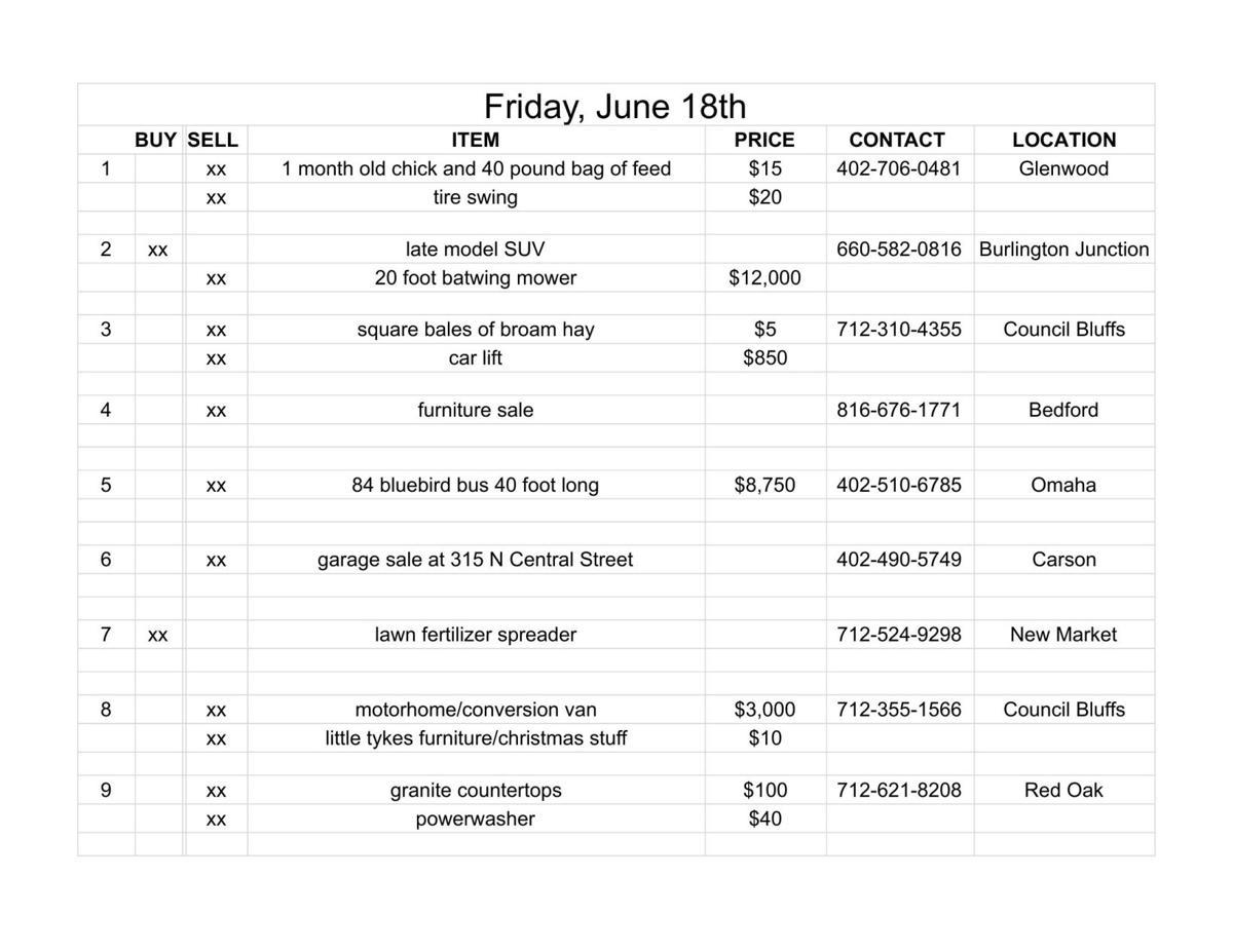 Friday, June 18th