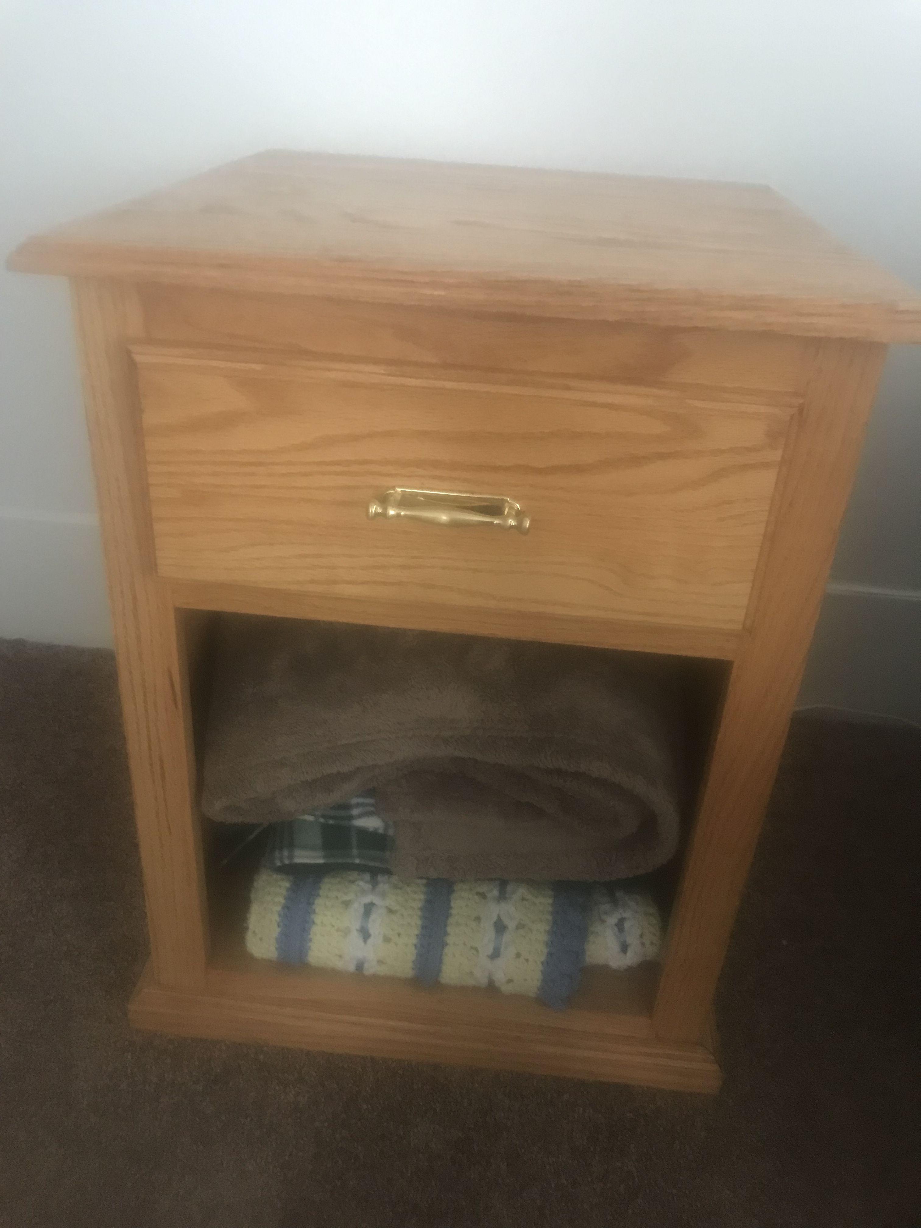 Handmade nightstand/end table image 1