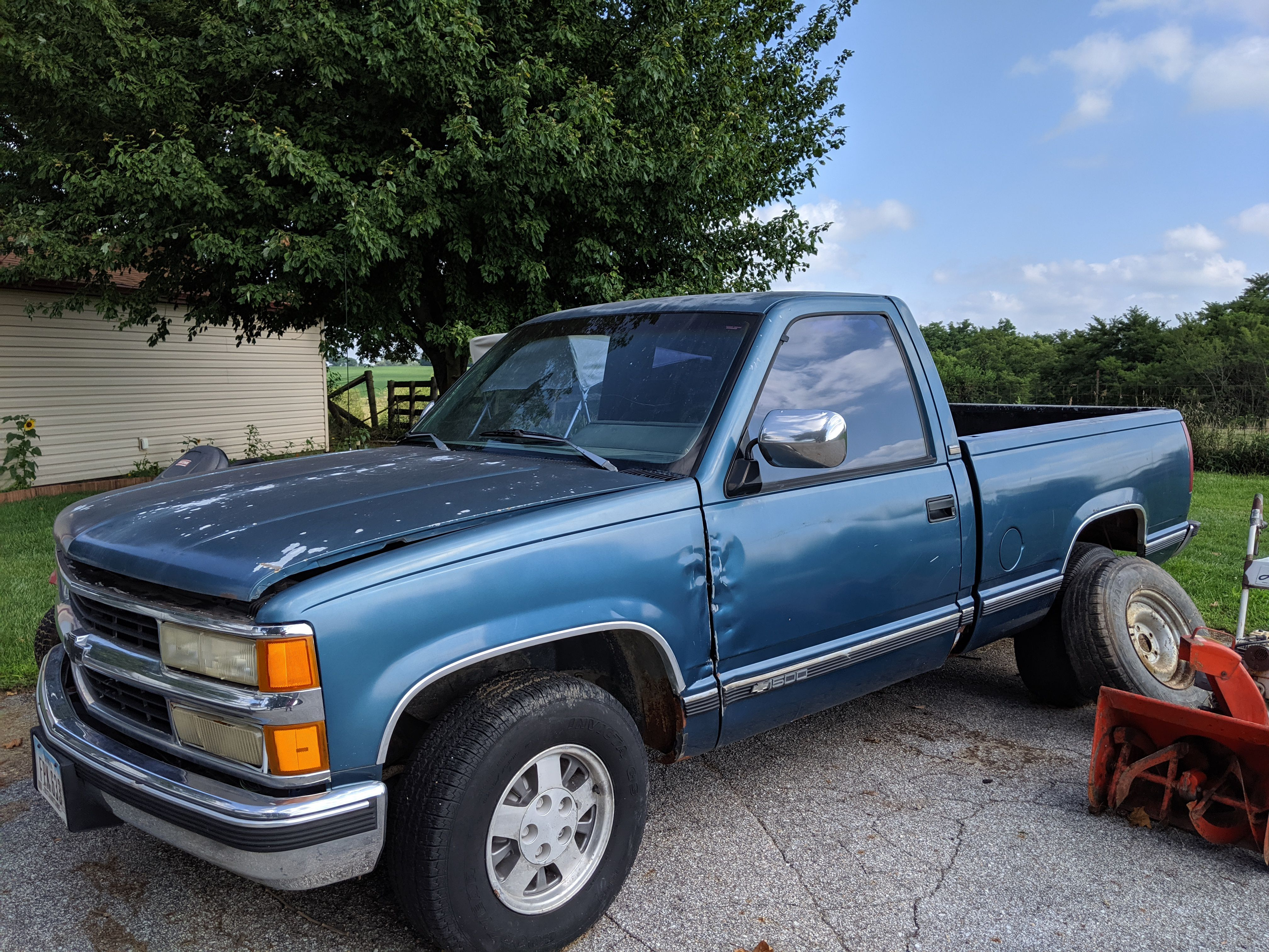 1991 Chevy 1500 Manual Transmission image 1
