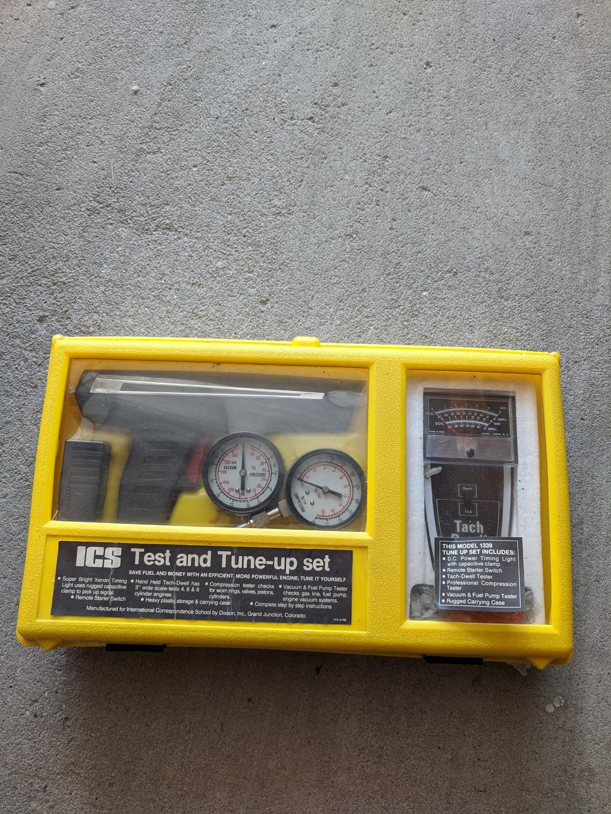 Vintage Dixon Test and Tune-up Set image 1