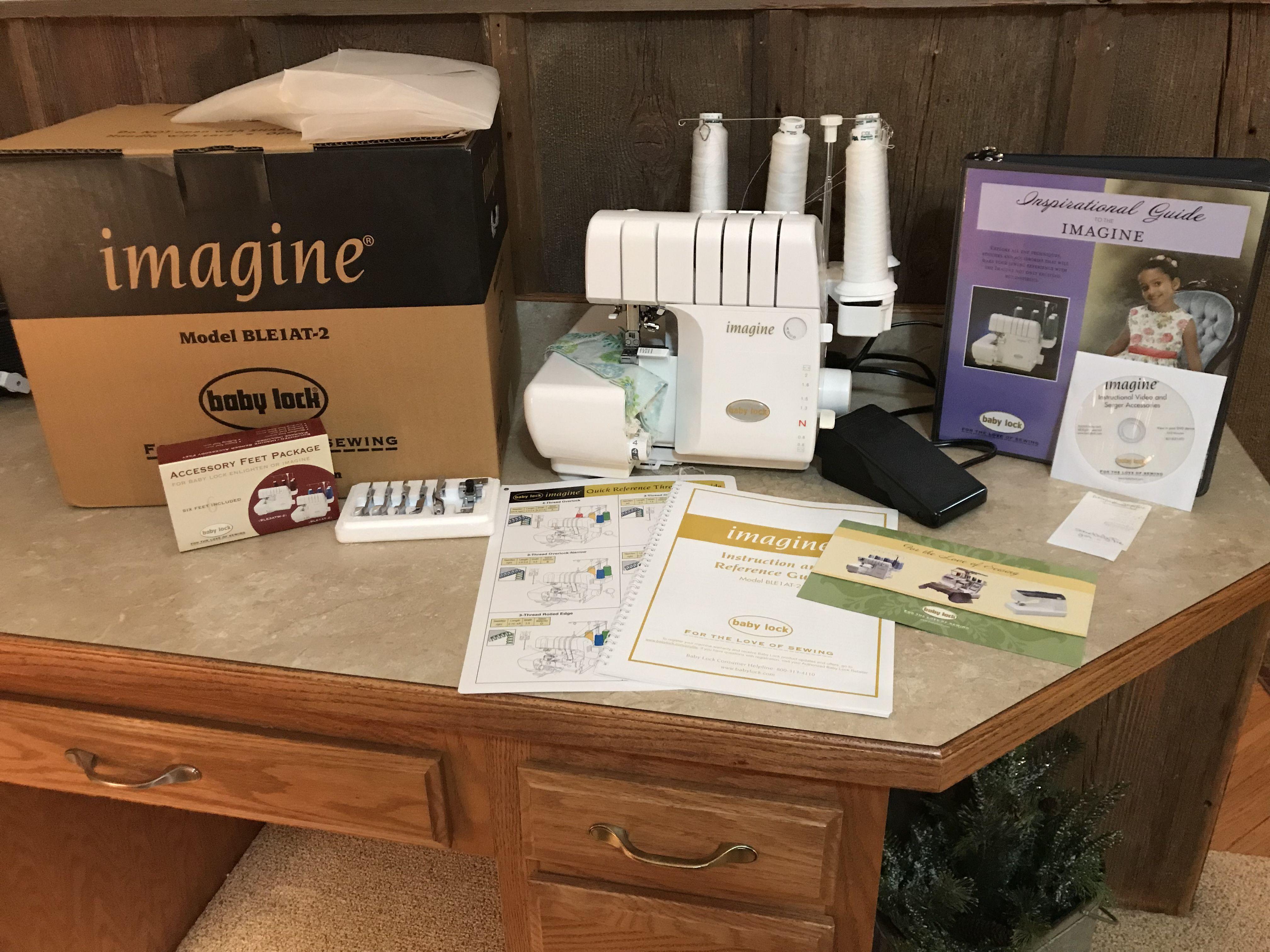 Baby lock serger sewing machine (Imagine) image 1