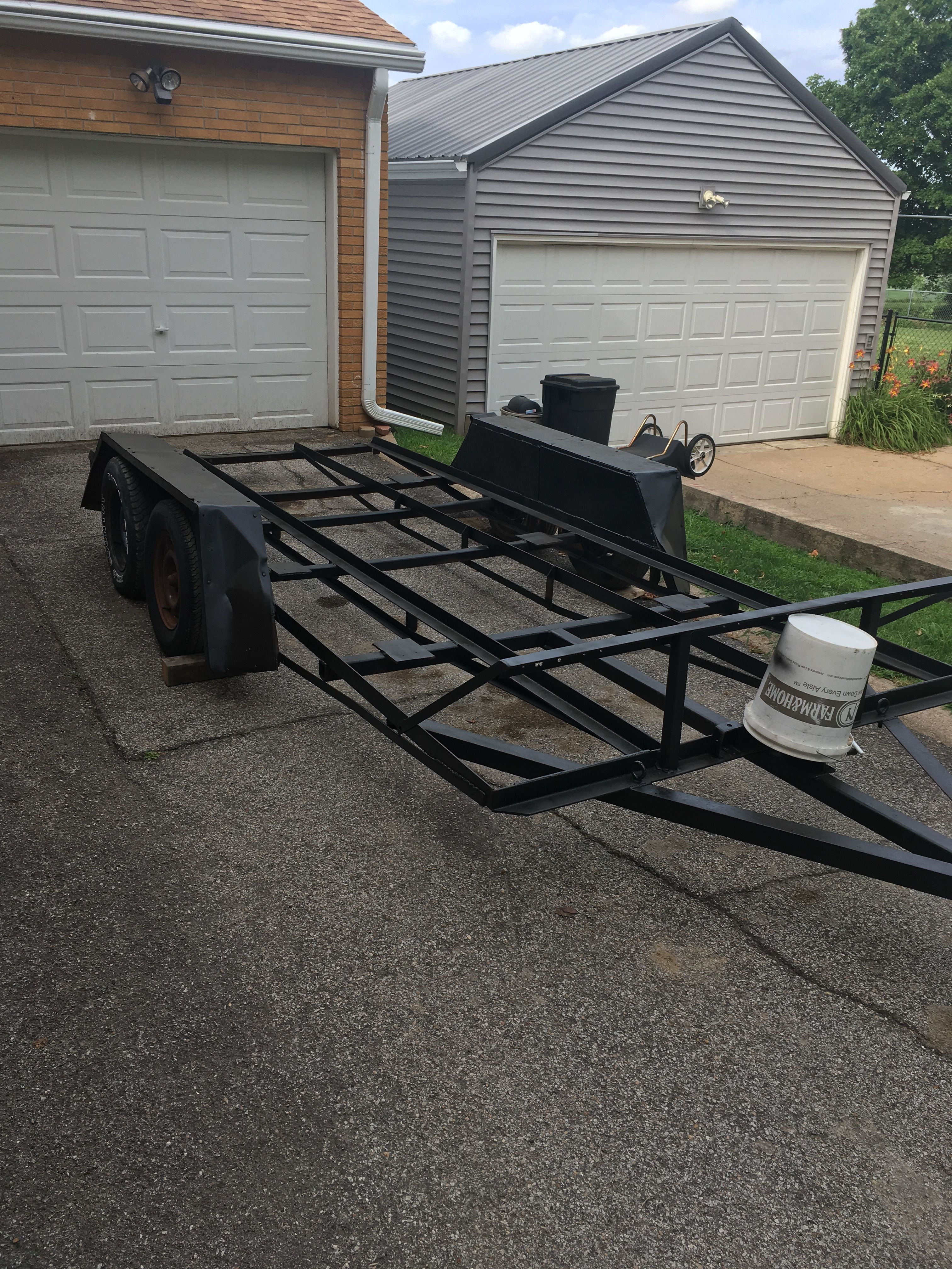 16-foot car trailer for sale image 1