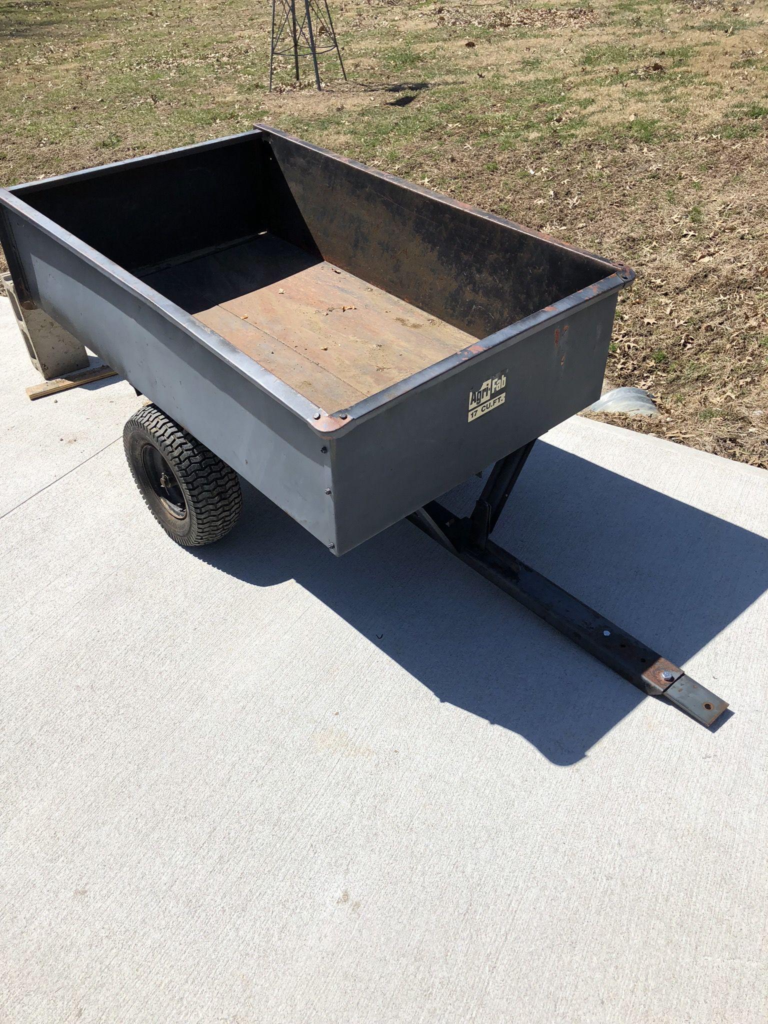 All Metal(Steel) Yard Cart—-Tilt Bed For Sale image 1