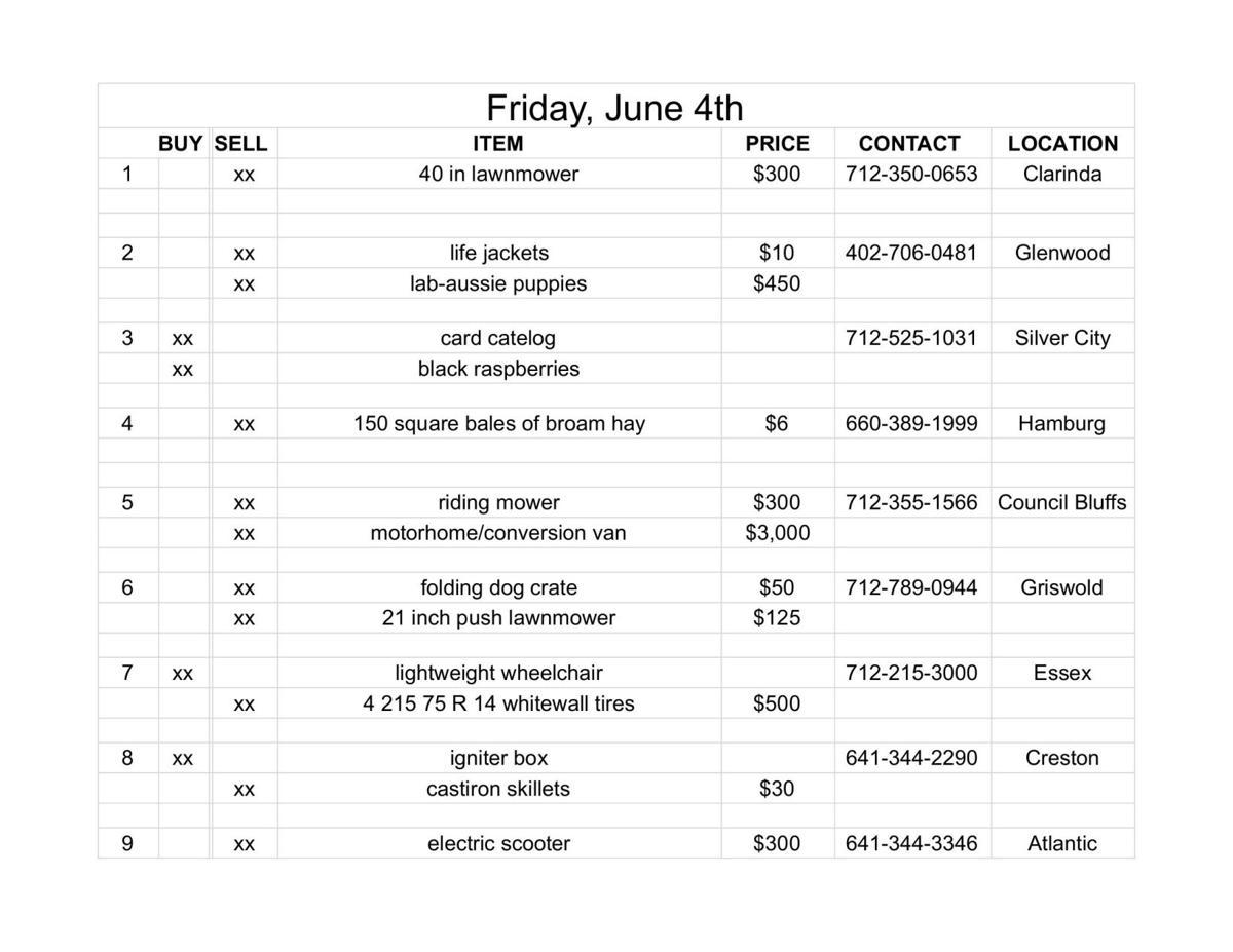 Friday, June 4th