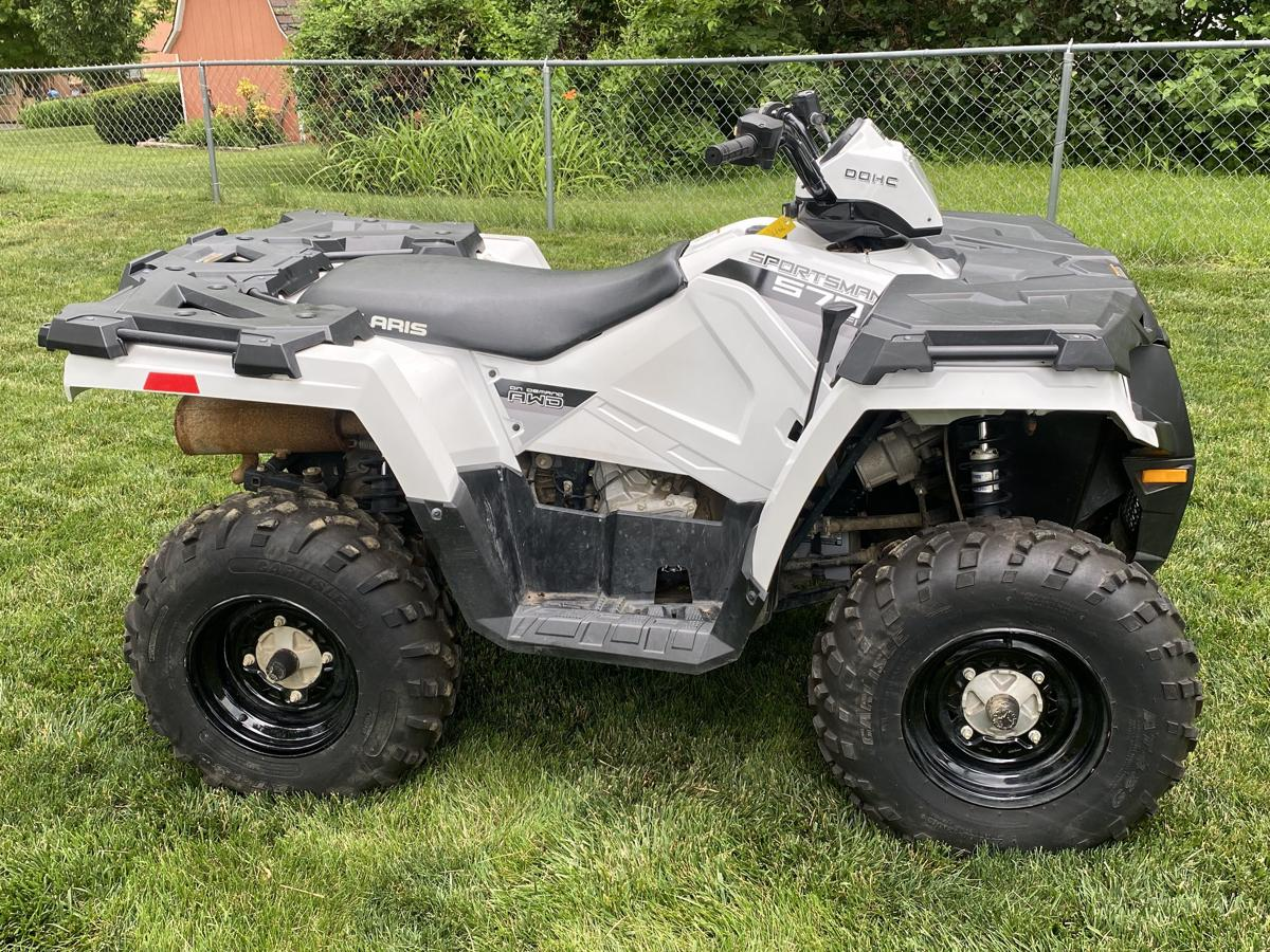 Gently used ATV in excellent condition with low miles. image 1