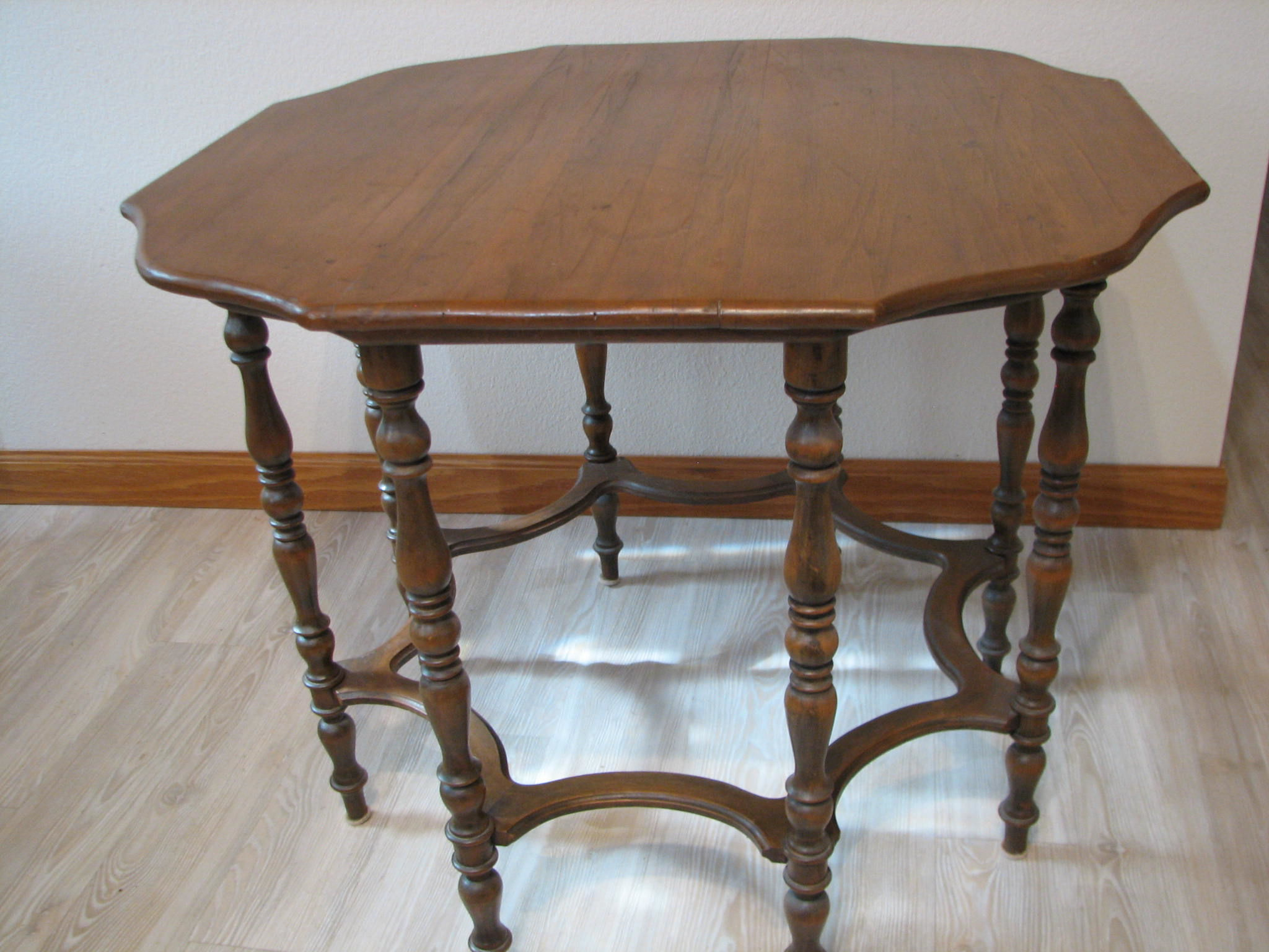 Antique Octagon Table image 1